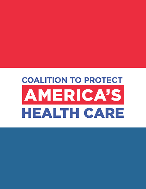 Coalition to Protect America's Health Care logo illustration